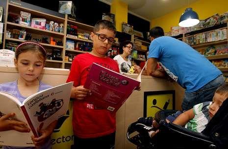 Las imágenes que dejó el «Hortensia».Las librerías viven días de gran actividad para preparar el regreso a las aulas.