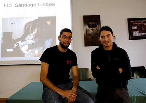 Leonel y Daniel volvieron ayer al IES San Clemente para relatar su experiencia en Lisboa.