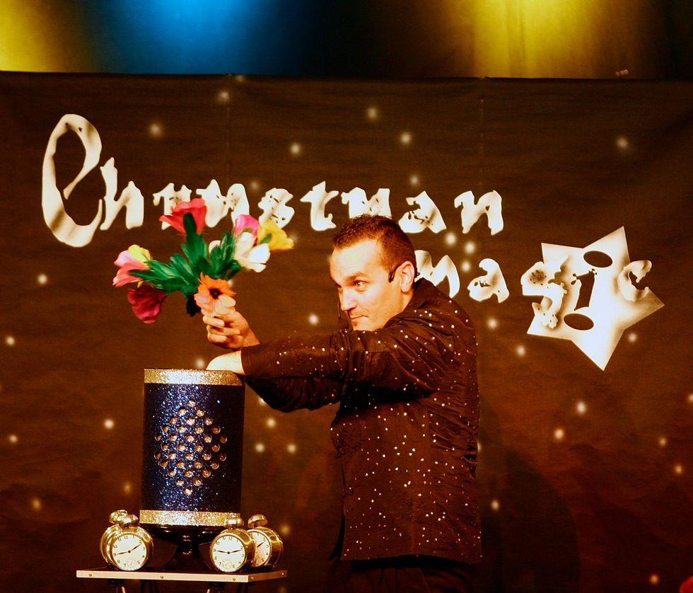 Chrystian Magic actuará el día 18 en Meicende