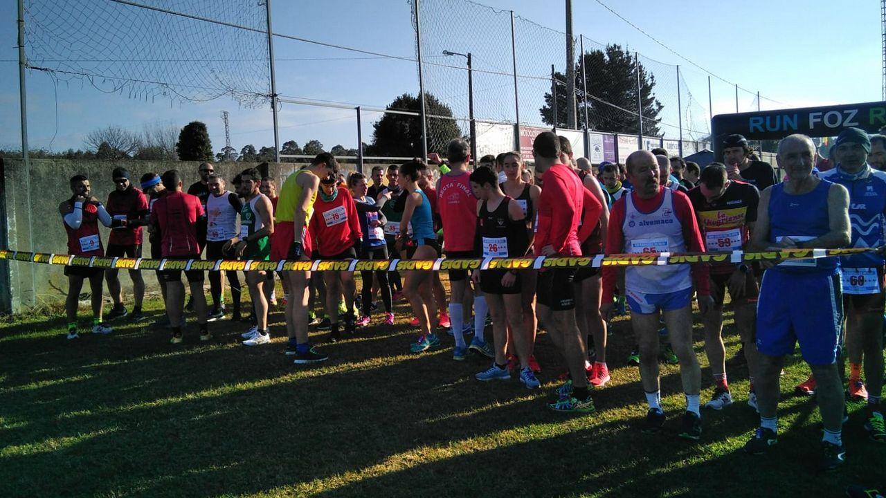 Chequeo a los miradores de A Curota.Salida de la primera etapa de la V Regata Interclubes de la Ría de Pontevedra