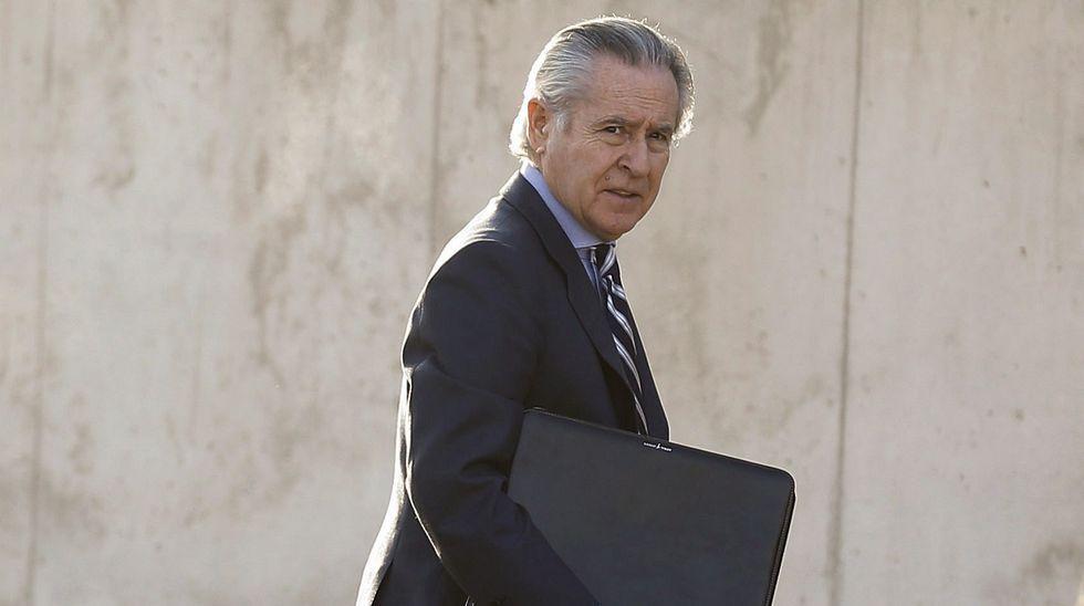 Bankia y el FROB apuntan a Blesa, Rato y Barcoj como responsables de las black.Rodrigo Rato
