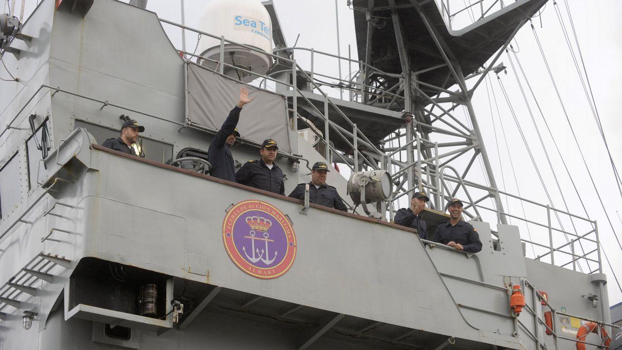 El patrullero regresó en diciembre al Arsenal tras un despliegue en el Golfo de Guinea de cuatro meses