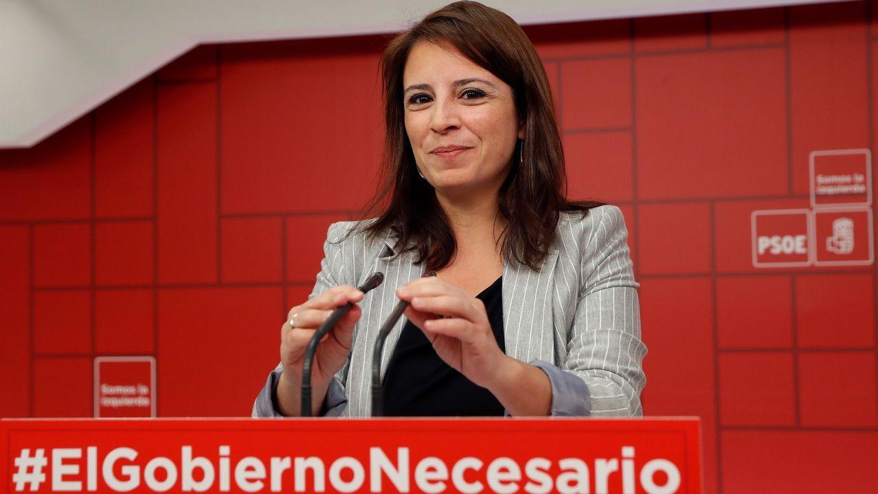 Adriana Lastra reiteró lo que ya dijo Pedro Sánchez hace tiempo, que sin Presupuestos la legislatura se acorta