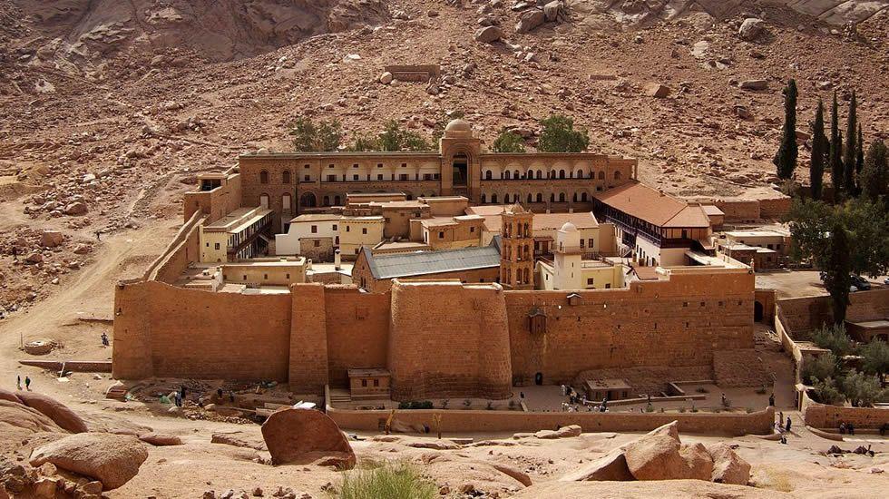 .Monasterio de Santa Catalina,  en la provincia de Sinaí