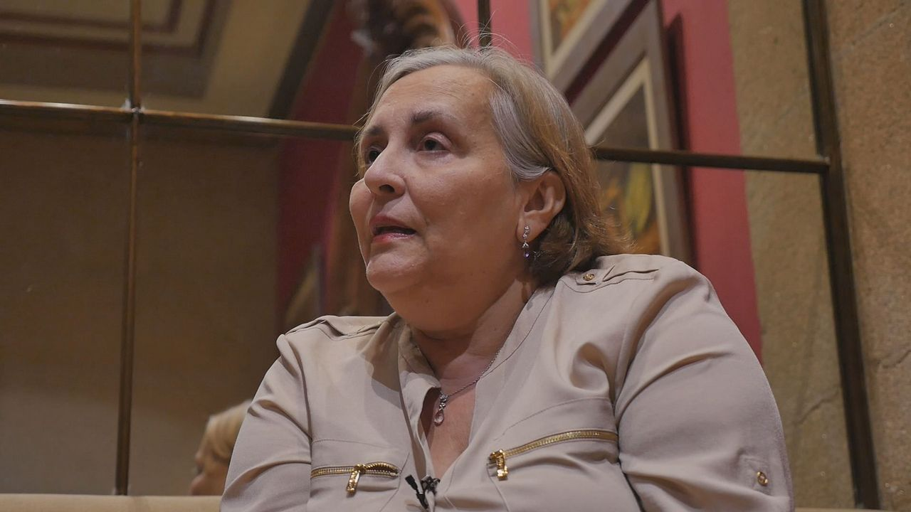 Pinto& Chinto: «Ponemos alguna de las diferencias un poco difícil, hay que darle a la cabeza».De izquierda a derecha, Elsa, Isabel Maruja y Lola, memoria viva de la conserva gallega