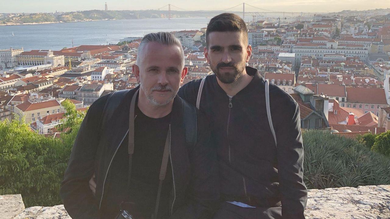 Los eurofans gallegos siguieron su ruta festivalera en Portugal