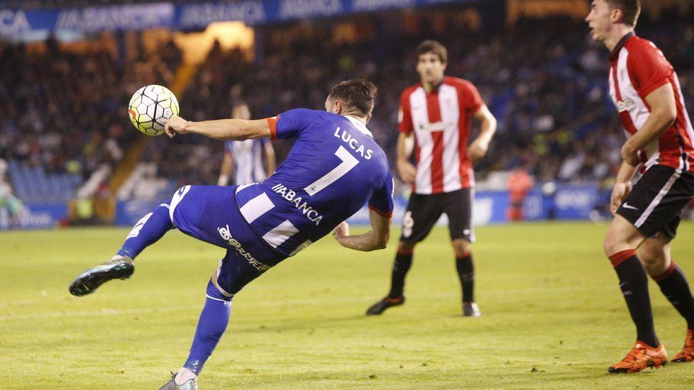 El Deportivo-Athletic, en fotos