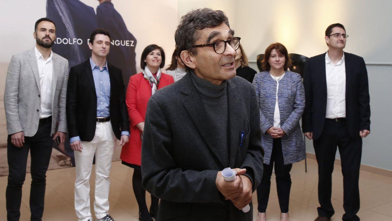 Portugal, polo de atracción para la empresa gallega.Luis Tosar, en la campaña de Adolfo Domínguez.