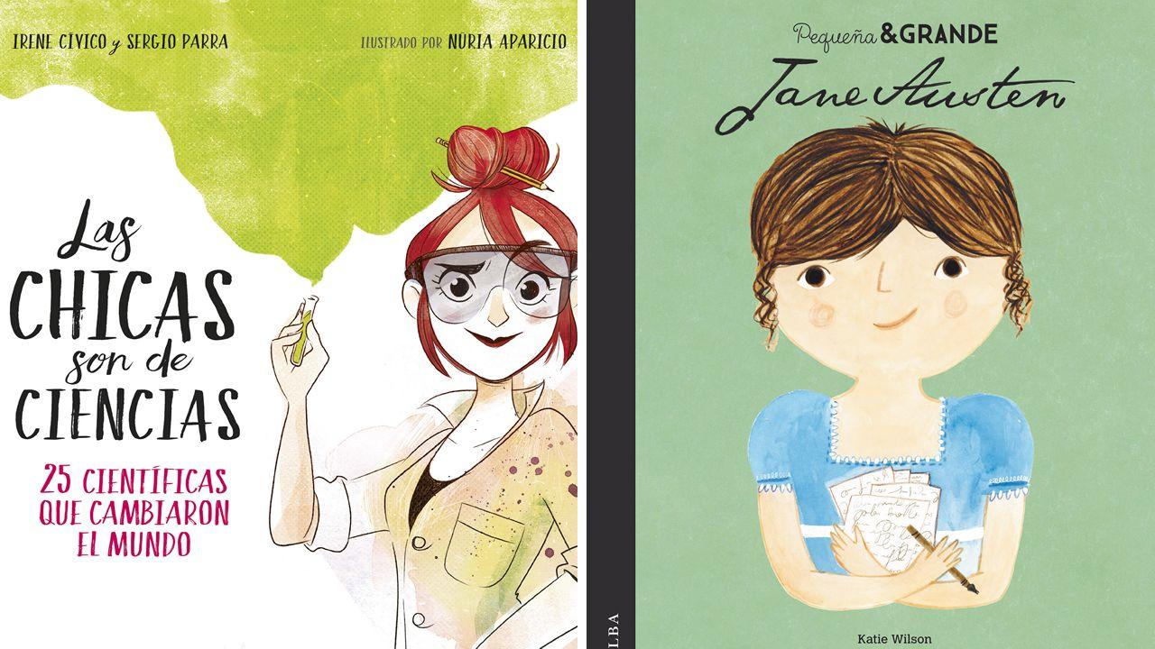 «Las ciencias son de ciencias», I. Cívico y S. Parra, y «Jane Austen», de María Isabel Sánchez