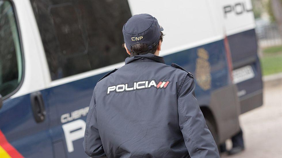 Las imágenes de la manifestación del 8M en Gijón.Policía Nacional