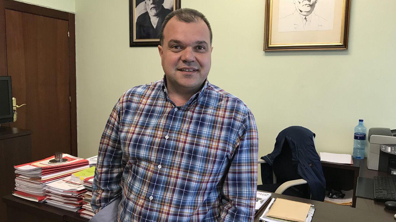 José Luis Alperi, secretario del SOMA-FITAG-UGT