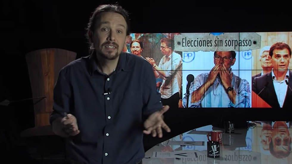 Pablo Iglesias explica el resultado de Unidos Podemos.Un acto de Unidos Podemos en Asturias