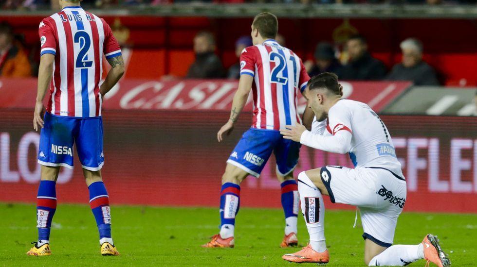 El Sporting de Gijón-Deportivo, en fotos.