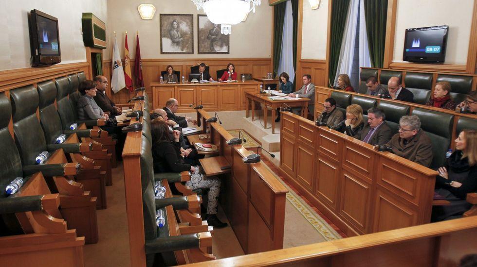 Feijoo, hoy, en la rueda de prensa tras el Consello de la Xunta.Breogán Riobóo
