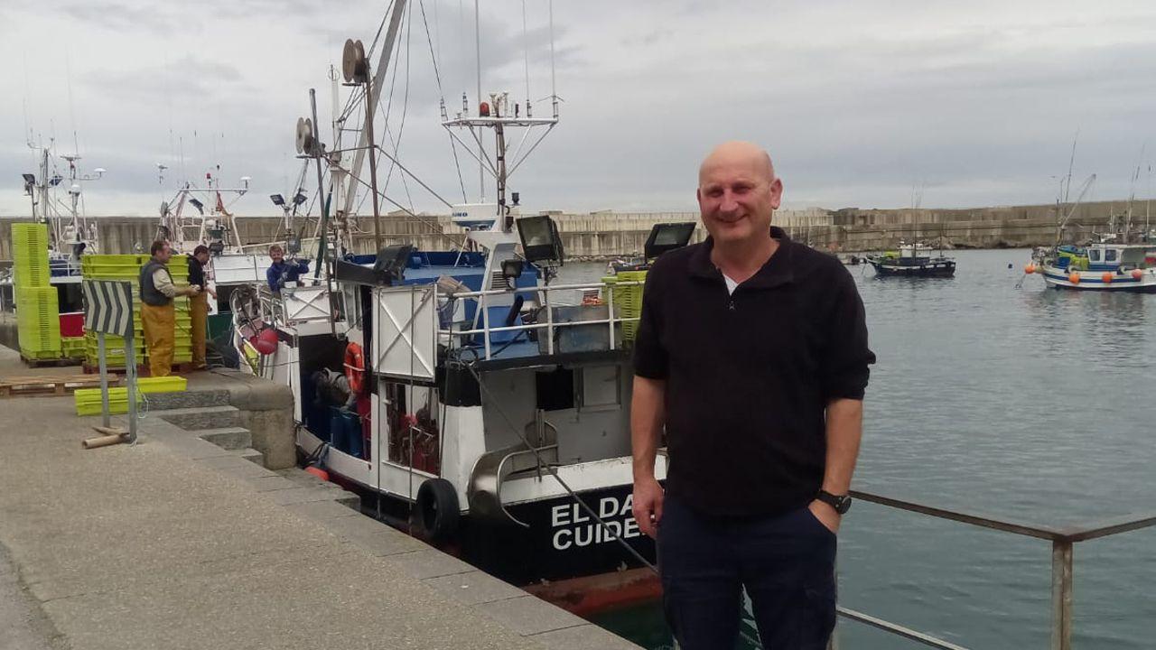 .El Patrón Mayor de la Cofradía de pescadores de Cudillero, Salvador Fernández Marqués