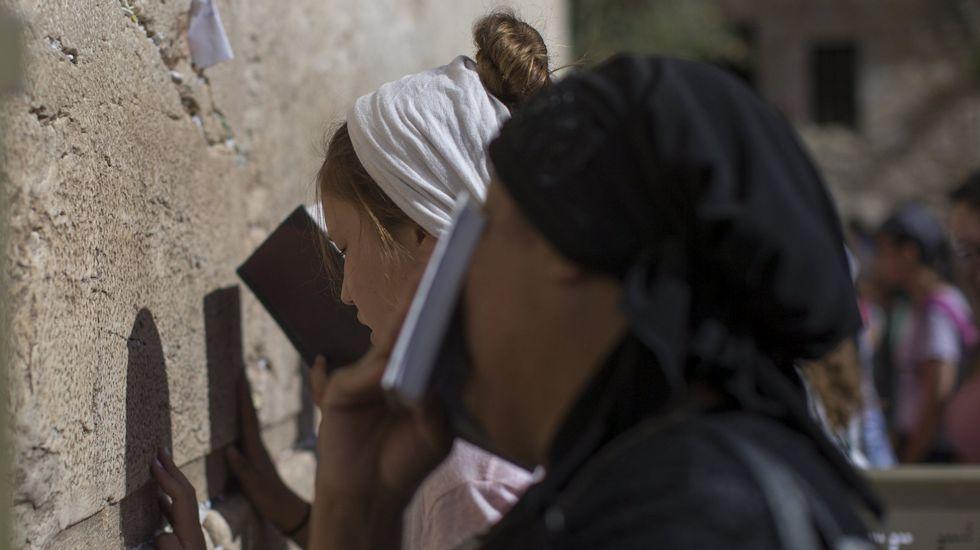 Protestas contra los controles de Israel en la Explanada de las Mezquitas.Ehud Olmert