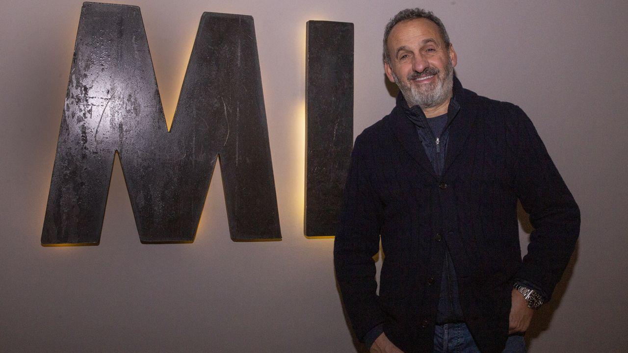 El diseñador Marcos Luengo
