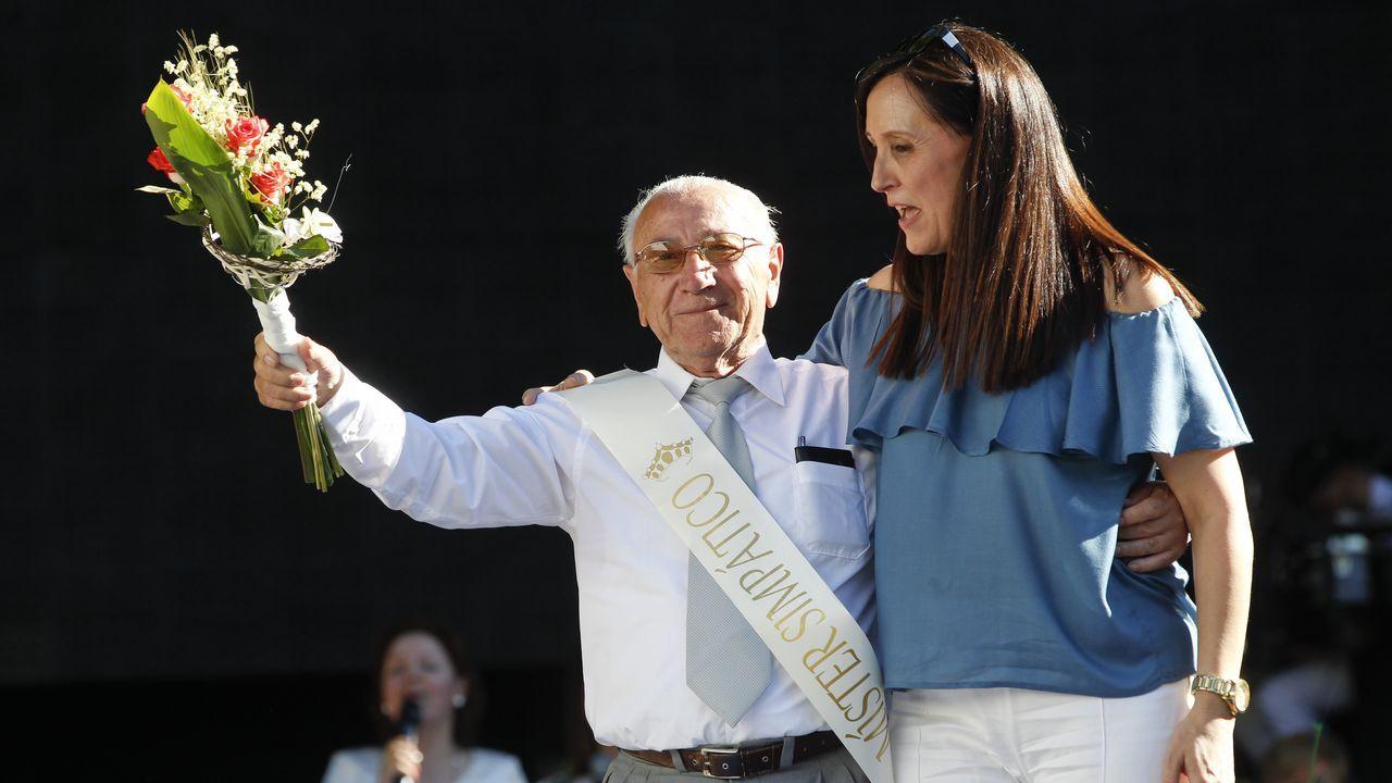La mujer de Ramón Barral no pierde la esperanza.Anciano desaparecido en Fisteus, Curtis
