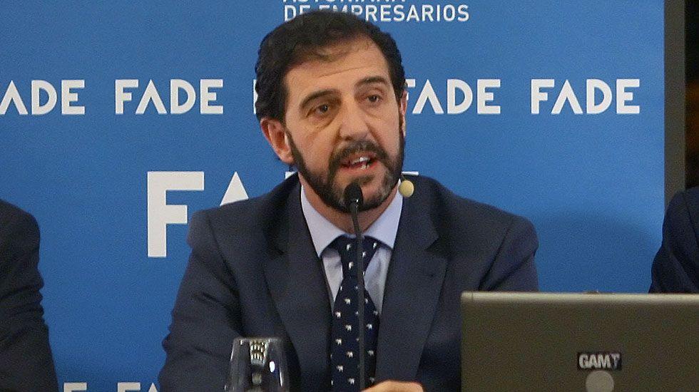 El presidente de la Federación Asturiana de Empresarios (Fade), Pedro Luis Fernández.El presidente de la Federación Asturiana de Empresarios (Fade), Pedro Luis Fernández