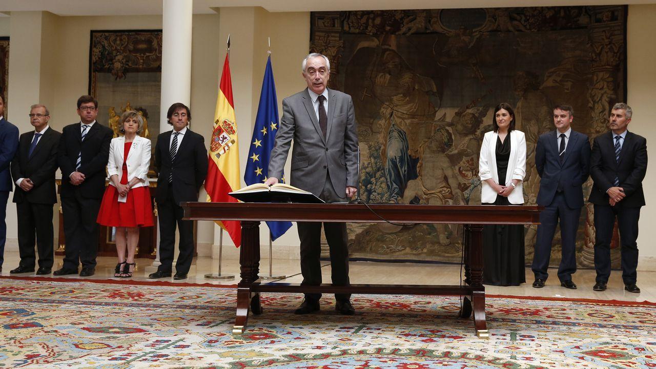 TOMA DE POSESIÓN DE CESAR MOGO ZARO COMO DIRECTOR Asuntos Institucionales del presidente del Gobierno