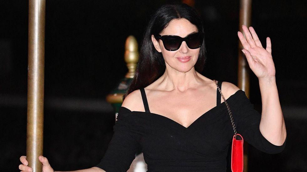 El fijador de pelo de Kim Kardashian y Lady Gaga sale de Nigrán.Monica Belluci