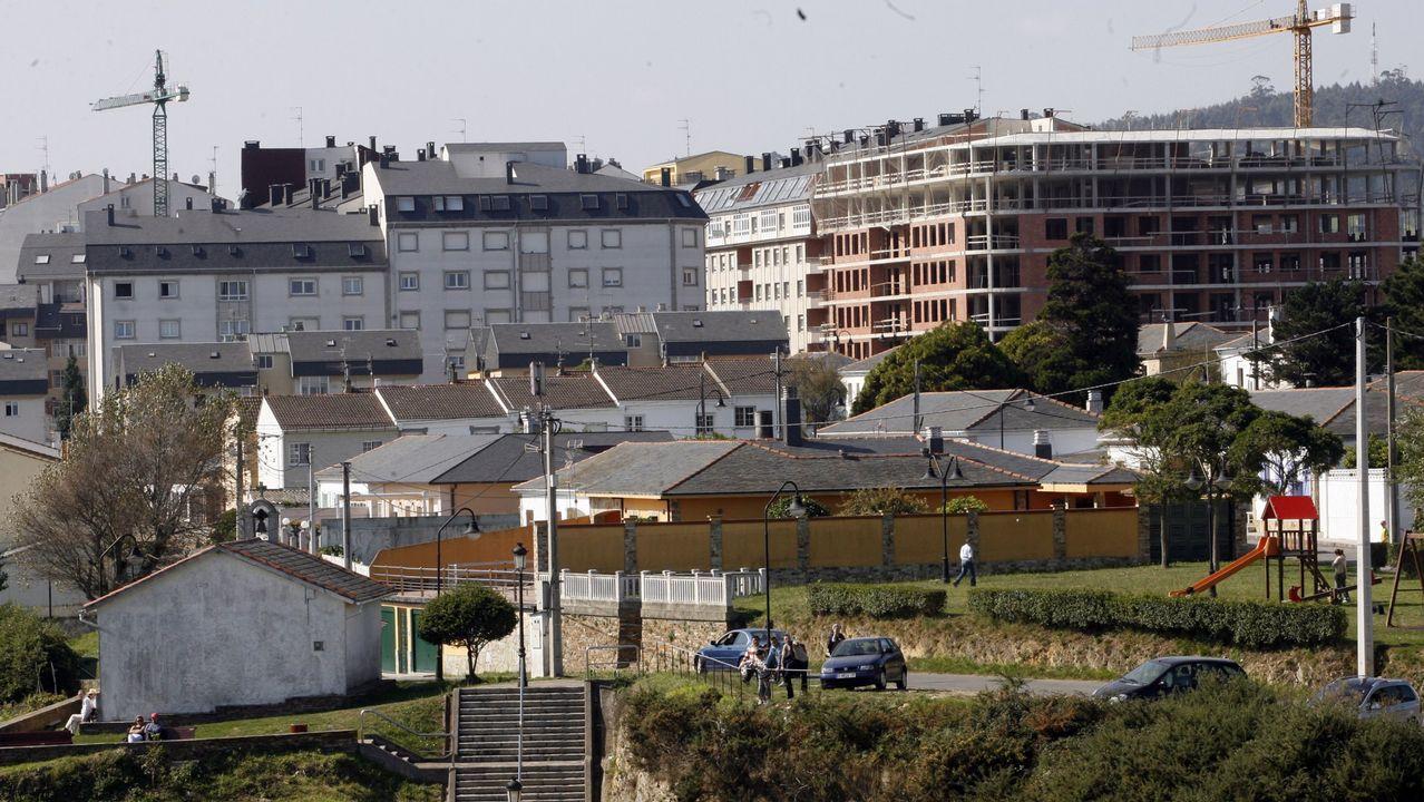 Villa Barbacana, en Ribadeo, antes de la rehabilitación..Villa Barbacana, en Ribadeo, antes de la rehabilitación.