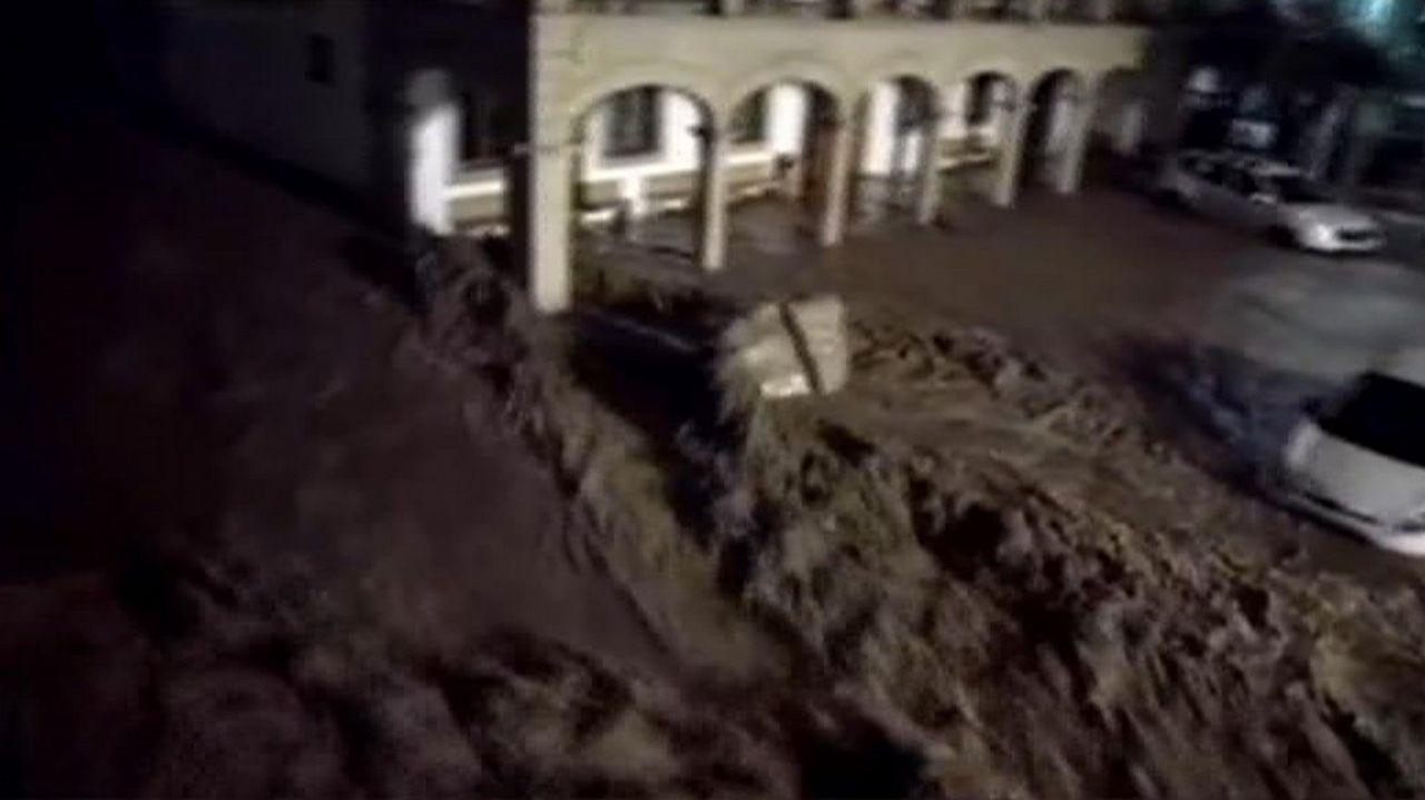 El desbordamiento de un torrente causó una completa destrucción en la localidad de Sant Llorenç