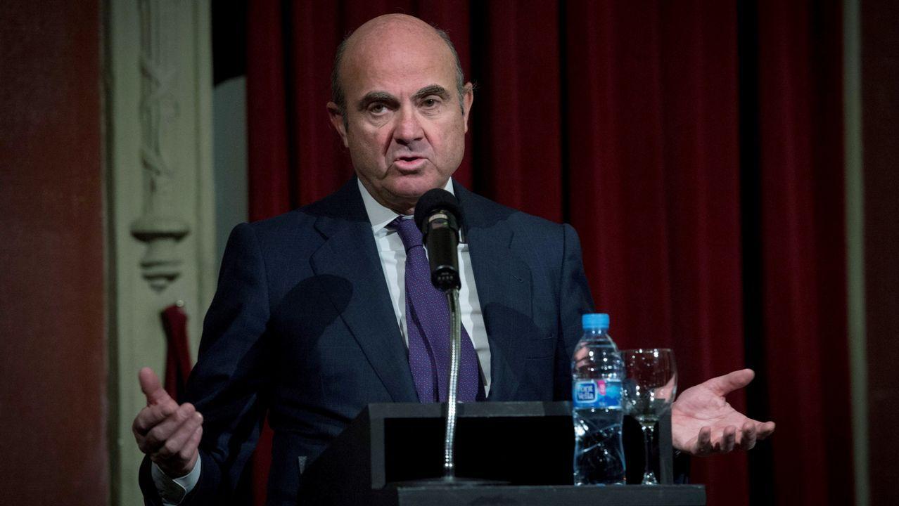 Sito Miñanco llega a la Audiencia Nacional.El ministro de Fomento, Íñigo de la Serna