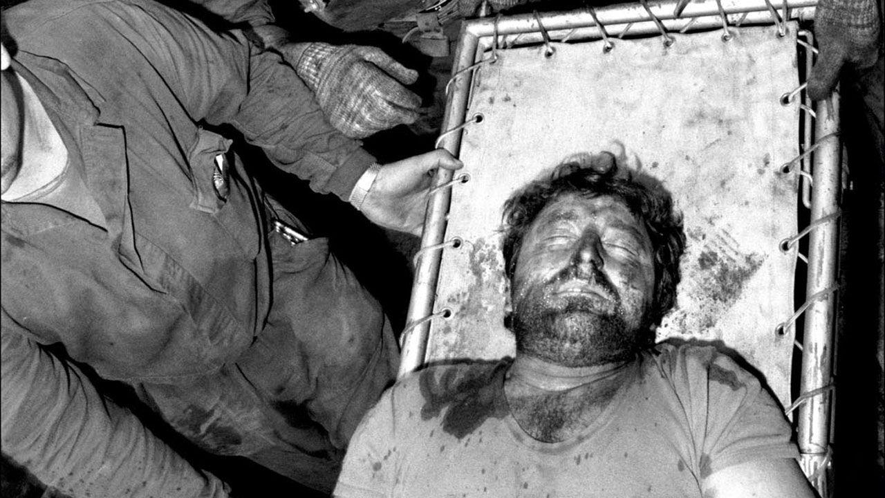 Incendio en el Pozo Mosquitera. 4 mineros muertos. Siero. Asturias (1989)