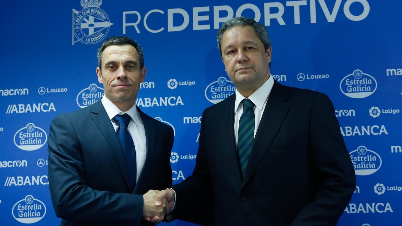 Carmelo del Pozo ha sido una de las grandes apuestas del presidente del Deportivo