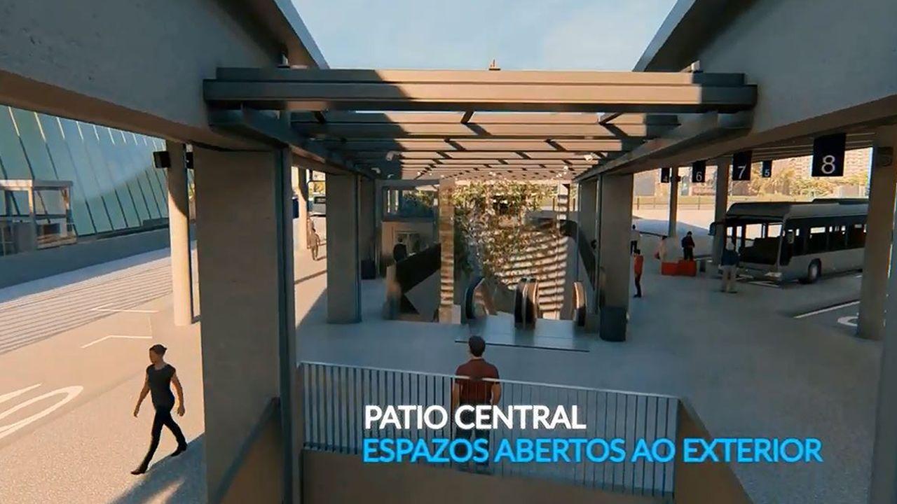 Así será la nueva estación de autobuses de Vigo.La sede central de Liberbank en Oviedo