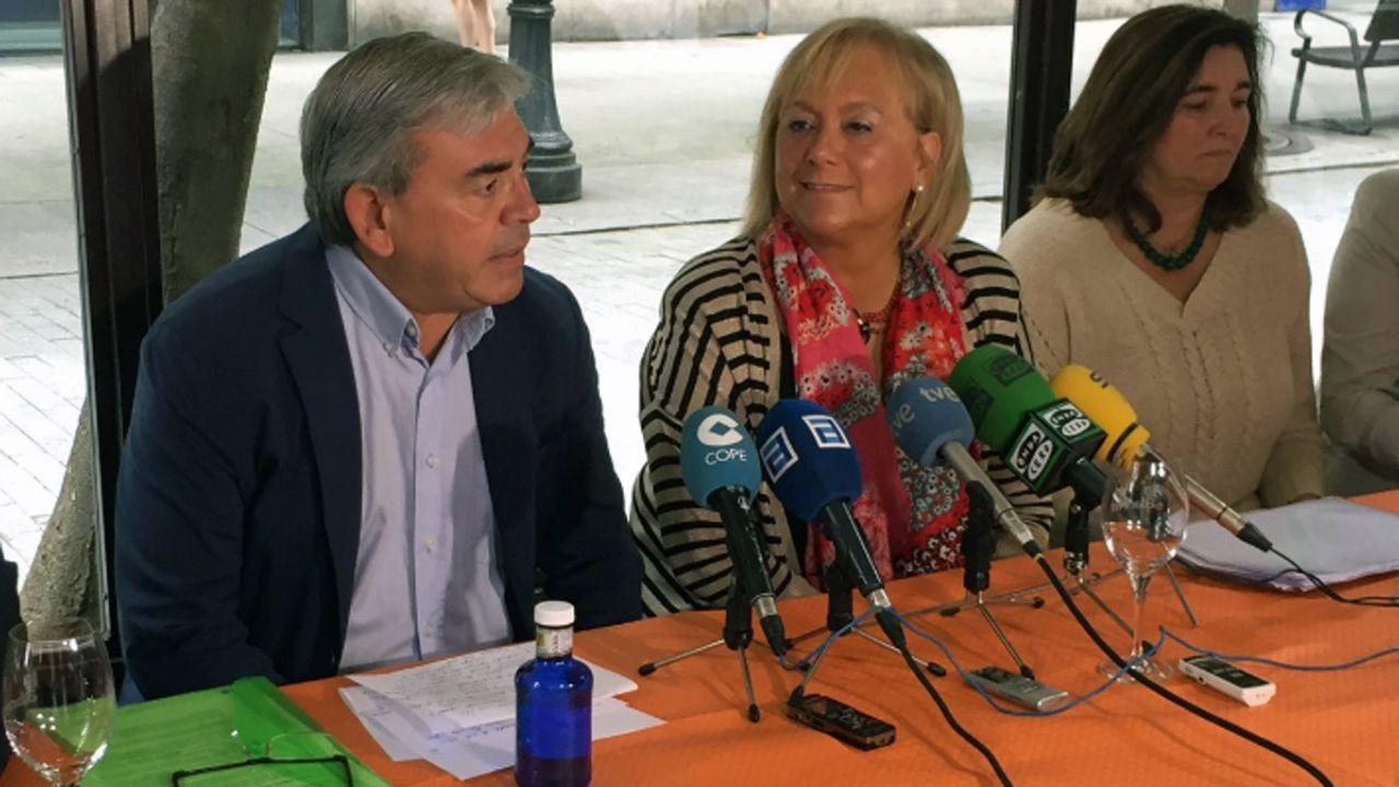 Mariano Marín y Mercedes Fernández