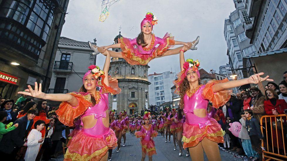 Carnavales en Pontevedra