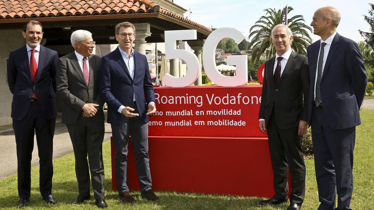 Además del presidente de Vodafone España, acudió el consejero de Ericcson, entre otros