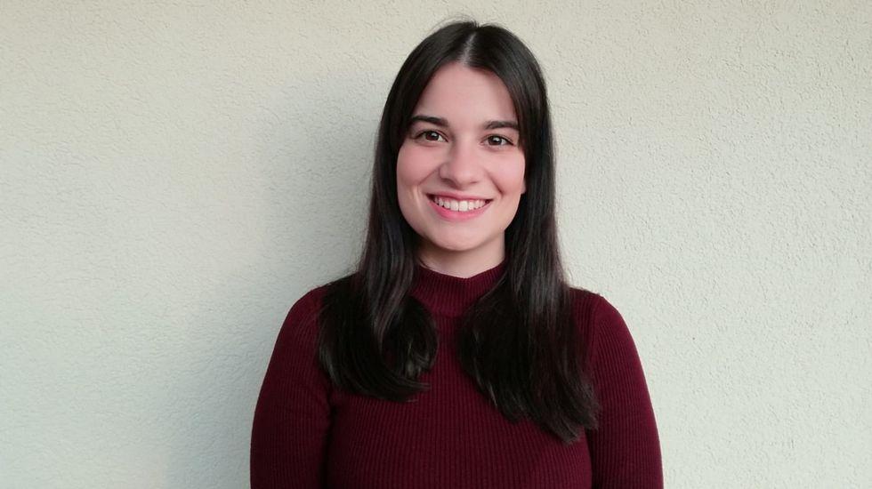 Paula Hernández, estudiante de Xornalismo