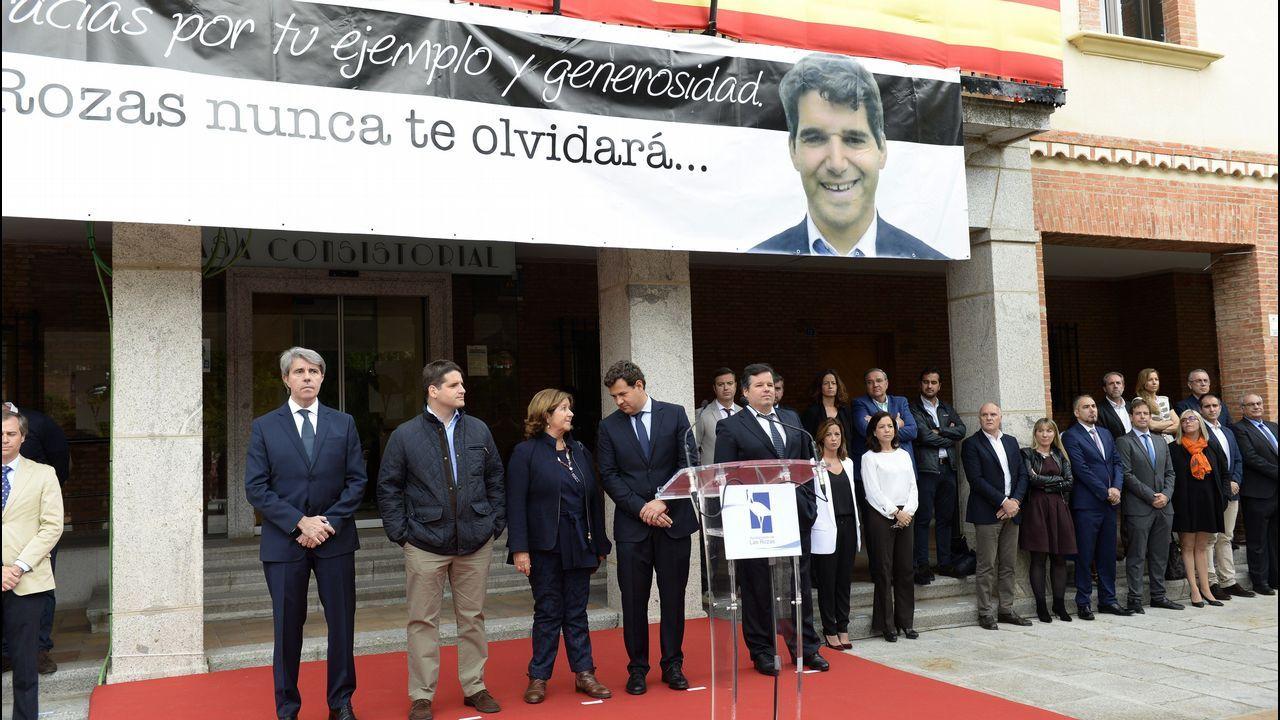 Las Rozas rinde homenaje a Ignacio Echeverría.