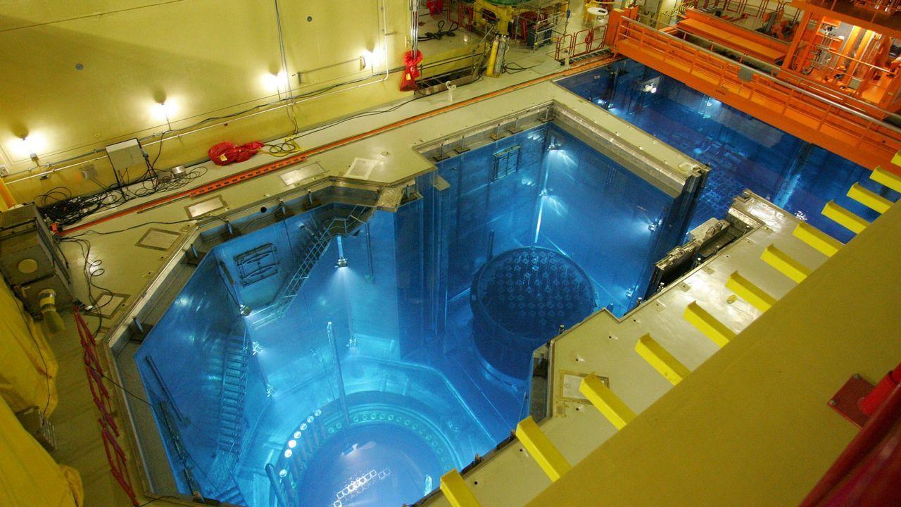 Una las plantas nucleares existenten en Angra, donde se produjo el ataque