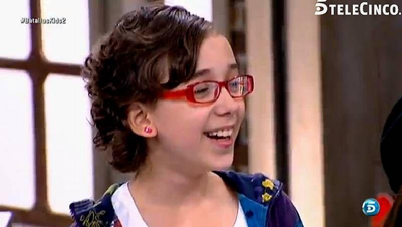 Iraila en su último programa en «La Voz Kids»