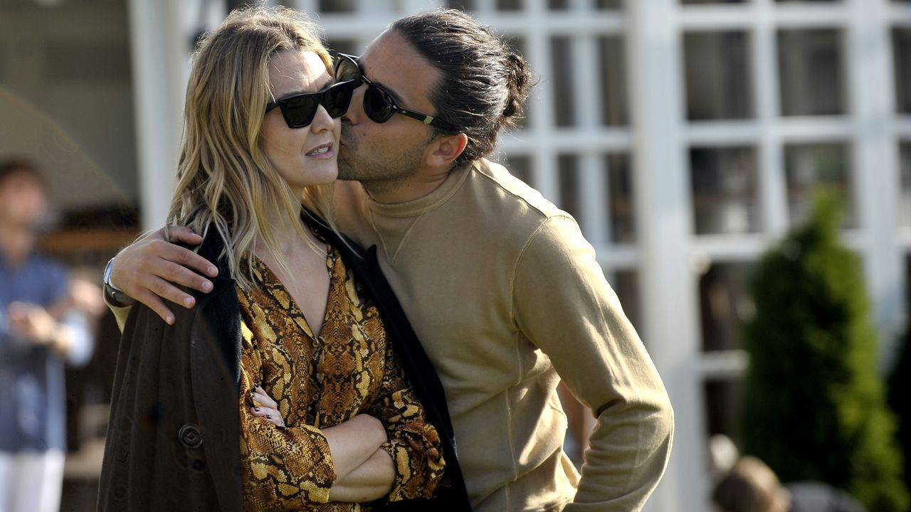 Marta Ortega junto a su novio Carlos Torretta