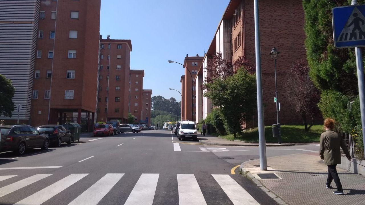 Avilés.calle Álvarez Gendín