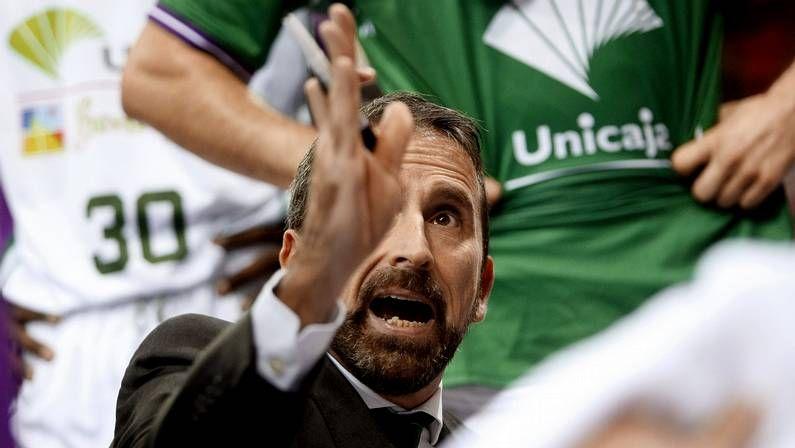 La derrota del Obradoiro en Málaga, en fotos.El equipo coruñés fue de menos a más.