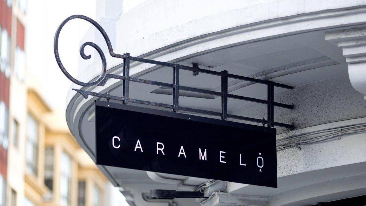 Los restaurantes triunfadores del Campanu.Panorámica tomada desde la Campa de Torres del puerto de El Musel de Gijón