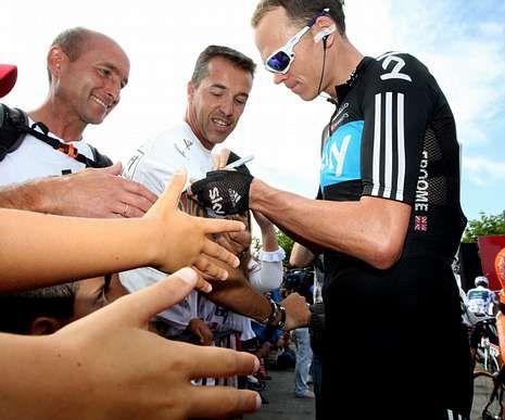 La Vuelta a España recorre la comarca.Froome ya fue el gran rival de los españoles en el 2012.