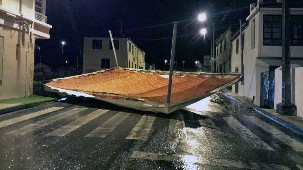 Las imágenes del temporal en la provincia