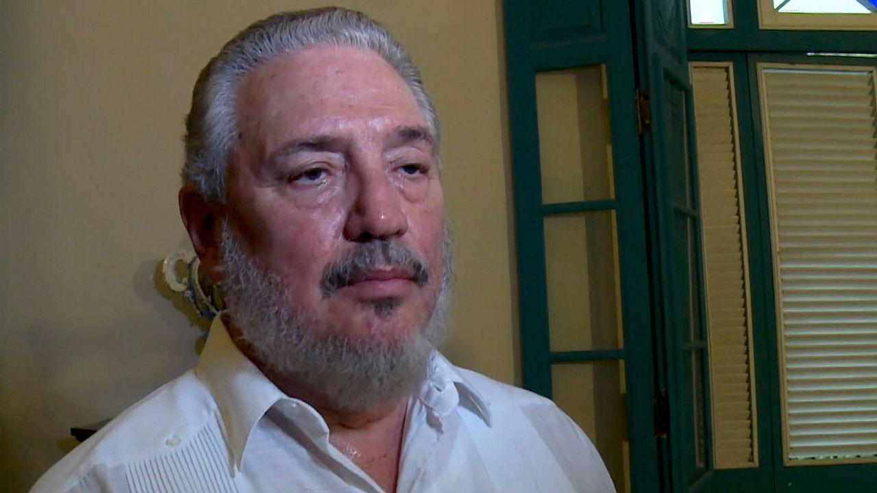 .Fidel Castro hijo, en una imagen de archivo