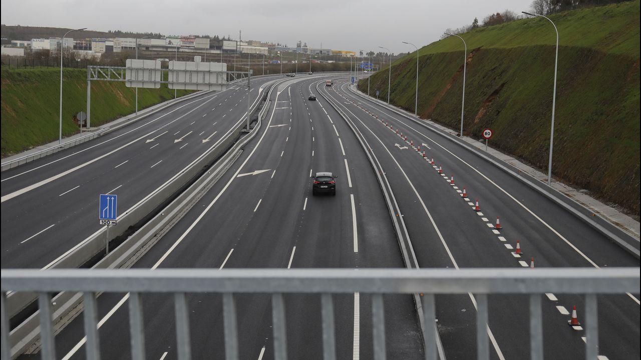Las obras de la AP-9 ponen fin al caos de tráfico en la zona norte, por la que circulan 35.000 vehículos diarios.