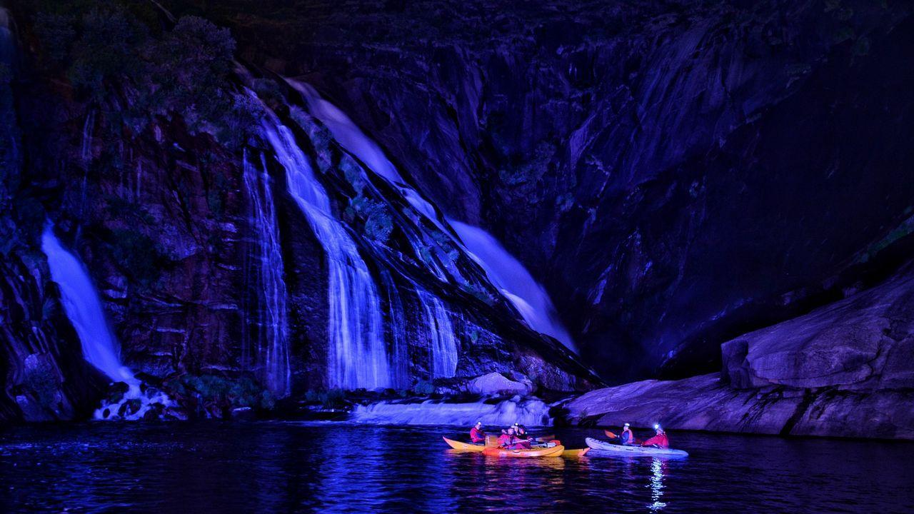 ¡Mira en imágenes el espectacular ambiente de la travesía Sisargas!