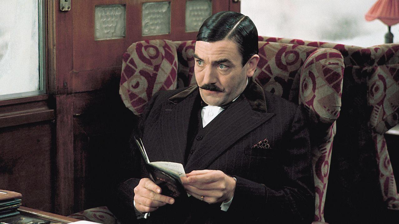 Como el detective Poirot, en «Asesinato en el Orient Express»