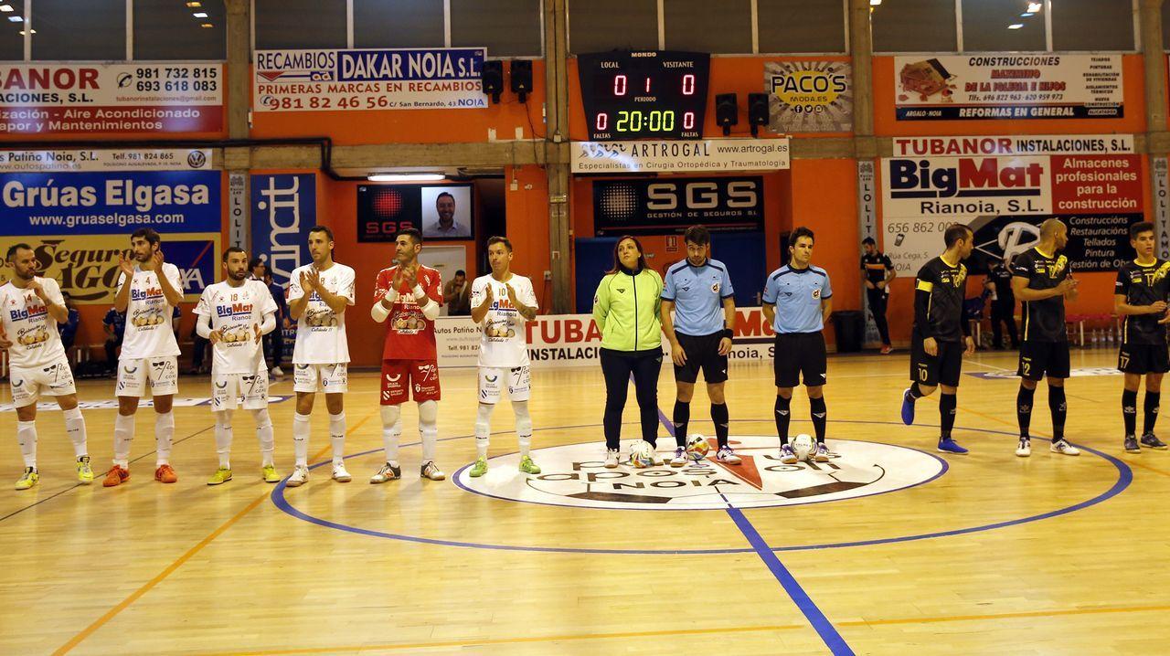 ¡Las mejores imágenes del partido de Copa del Rey entre Noia y O Parrulo!
