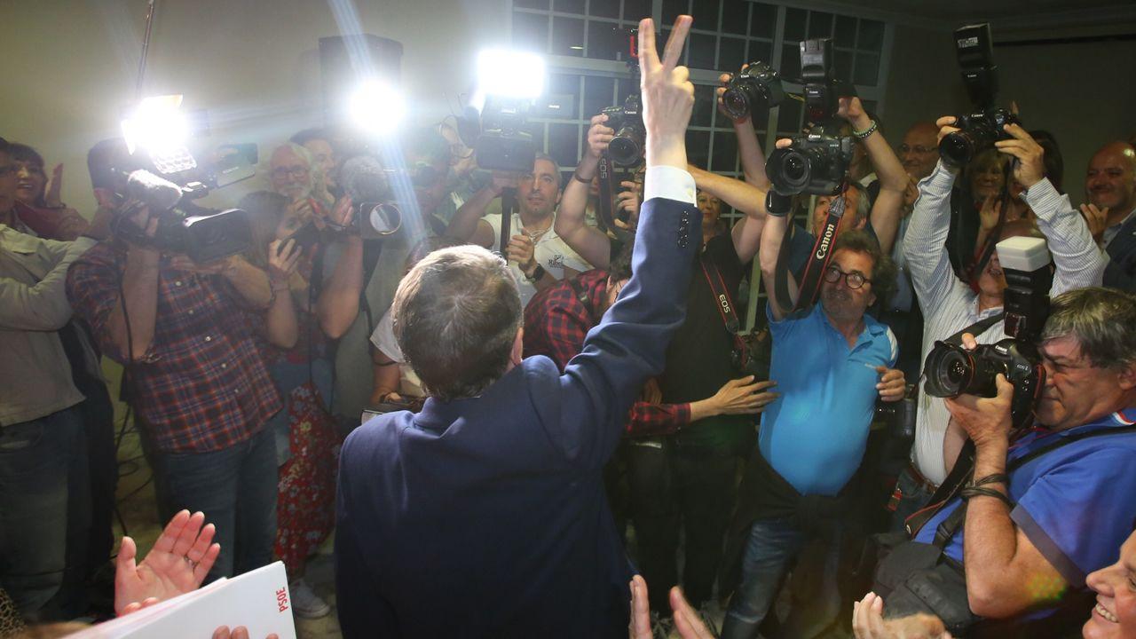 Así fue la operación Octano de la Guardia Civil.Abel Caballero celebra el resultado electoral en la noche de los comicios